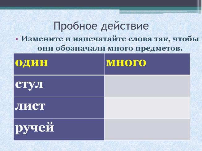 знакомство с суффиксом русский язык