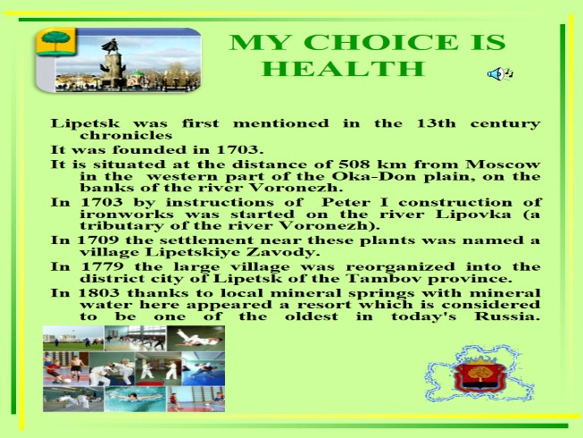 My Choice Is Health