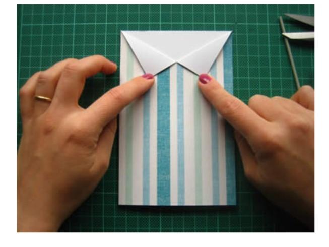 Сделать открытку с двумя сторонами