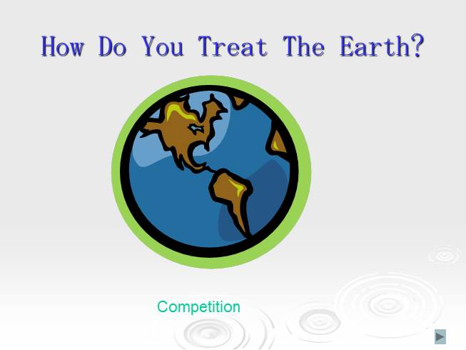 Competition «How Do You Treat The Earth?»