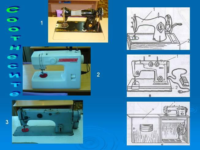 История платья и швейной машины