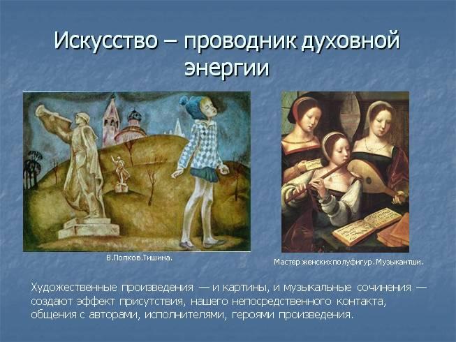 Искусство Проводник Духовной Энергии Презентация
