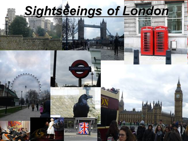 Sightseeings of London