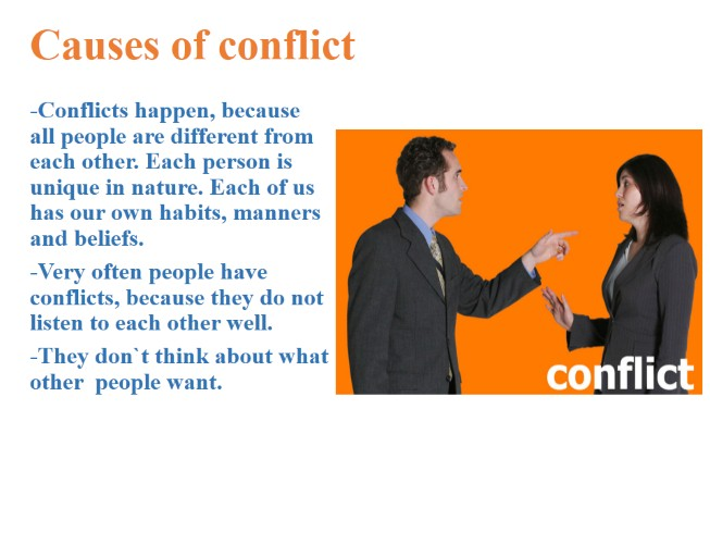 the nature of conflict essay