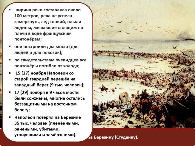 Презентация - Отечественная война 1812 года займище