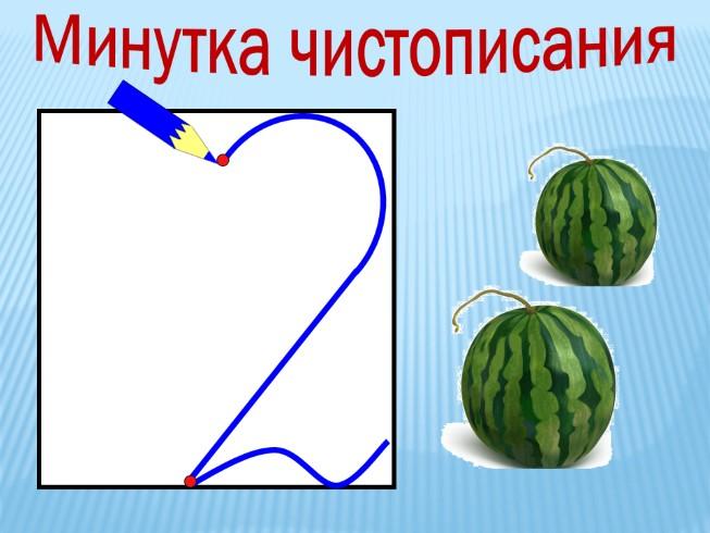 Уроки математики 2 класс