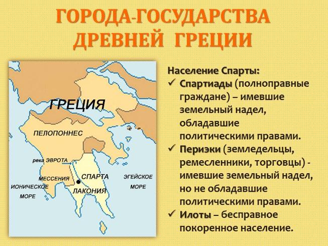 Главный город пелопоннеса образовавший государство