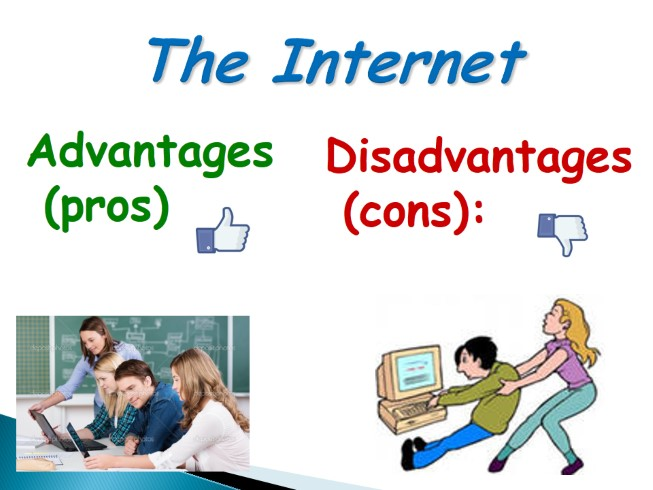 a study of internet advantage Advantages and disadvantages of online learning the internet and intranet hold tremendous against this list of advantages and disadvantages.