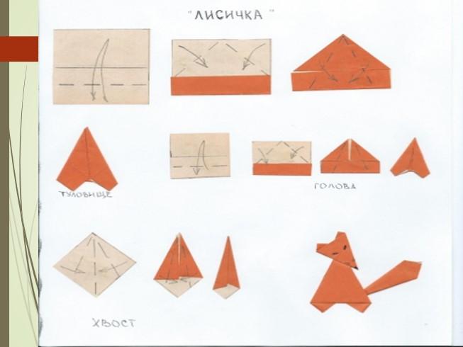 Как ребенку сделать оригами пошагово