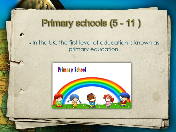 School Education in the United Kingdom