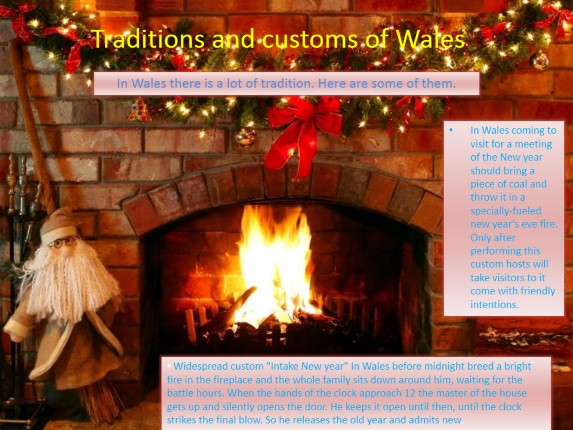Traditions and customs of Wales