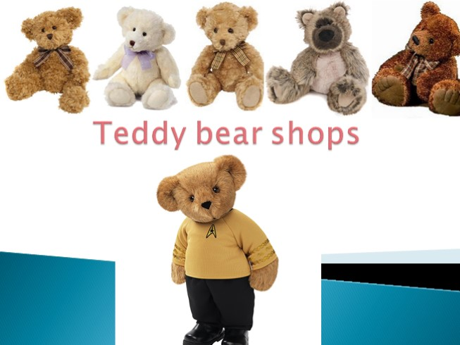 Teddy Bear Shops - Old Russian Toys