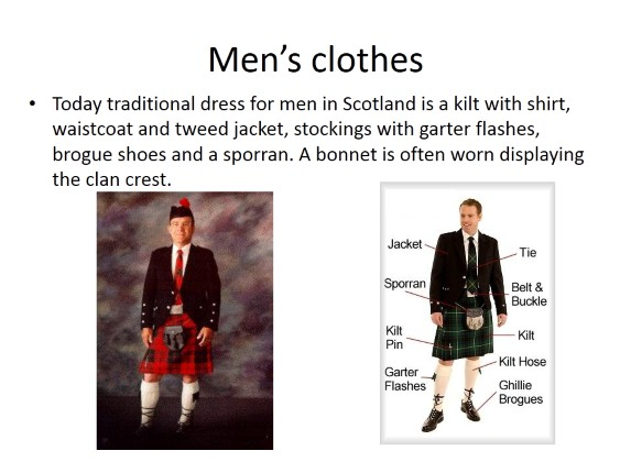Scottish National Clothes and Traditions