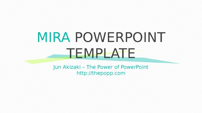 Mira powerpoint template