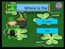St Patrick s Day Prepositions, слайд 11