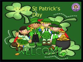 St Patrick s Day Prepositions, слайд 12