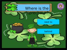 St Patrick s Day Prepositions, слайд 4