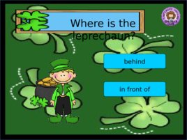 St Patrick s Day Prepositions, слайд 5