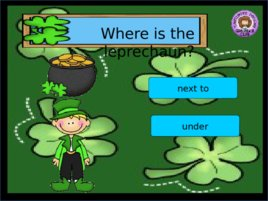 St Patrick s Day Prepositions, слайд 6
