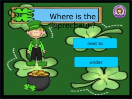 St Patrick s Day Prepositions, слайд 7