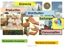 The basic concepts of the world economy