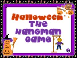 Halloween the hangman game fun activities games games