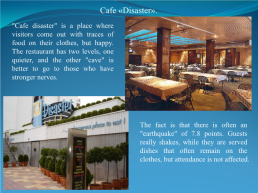 Original restaurants from all over the world, слайд 6