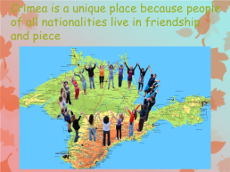 There are a lot of nationalities in crimea, слайд 9