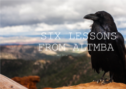Six lessons from altmba may