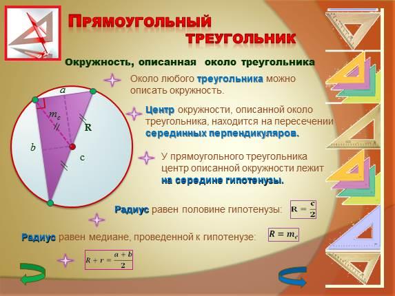 Как из окружности сделать треугольник
