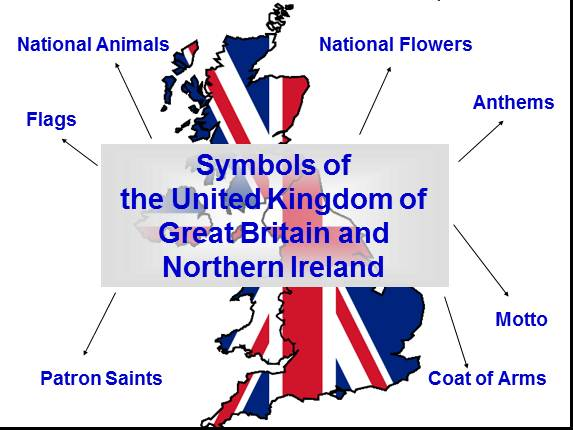 The United Kingdom of Great Britain and Northern Ireland on the world map