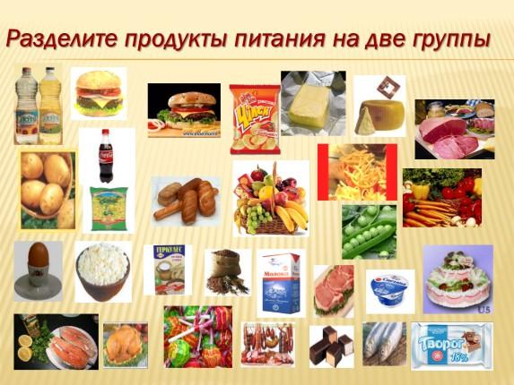 здоровое питание классный час 2 класс