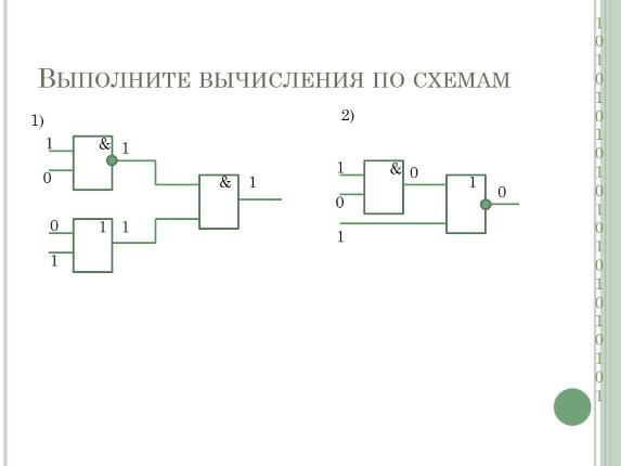 Построение логической схемы по логическому выражению 112