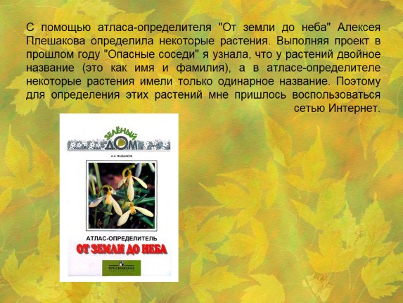 Титульный Лист Гербария Образец - фото 7