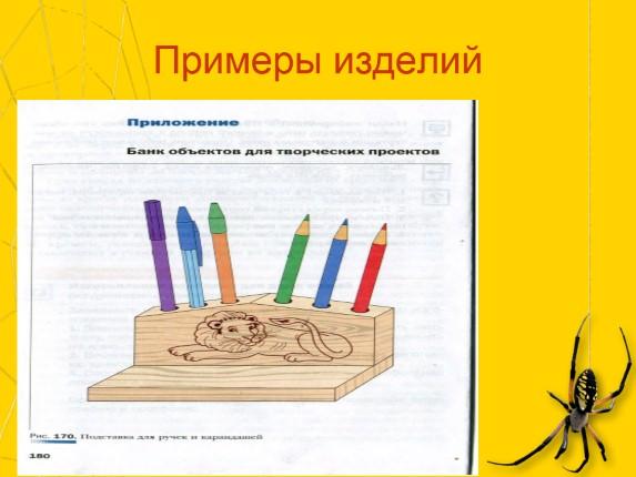 Projektno delo za tehnologijo razreda 7 za dečke