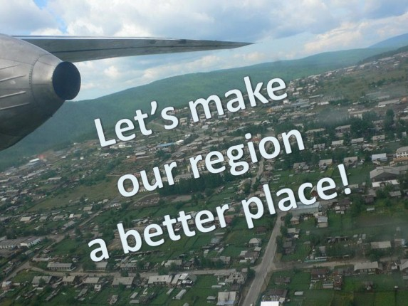 Let's make our region a better place!