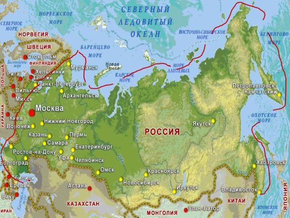 Презентация на тему моря озера и реки россии