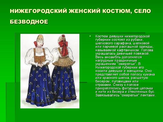 История Женского Костюма