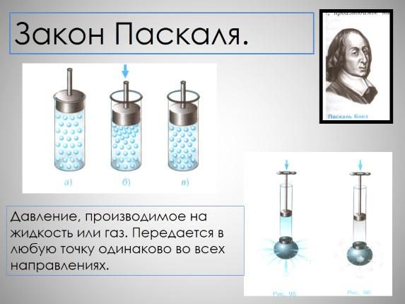 Передача давления жидкостями и газами