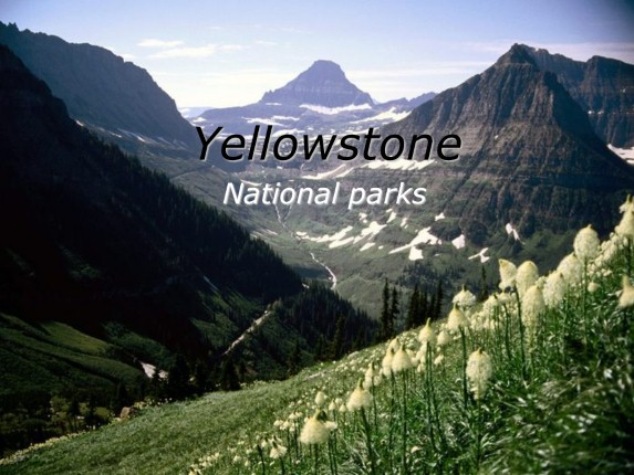 Yellowstone - National parks