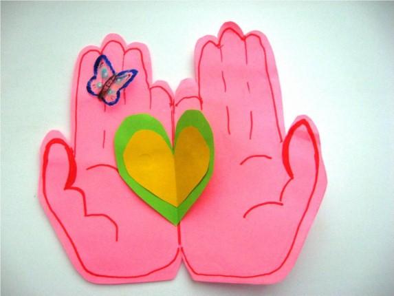 Открытки для детей своими руками