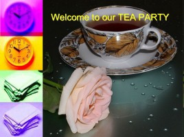 Welcome to our Tea Party