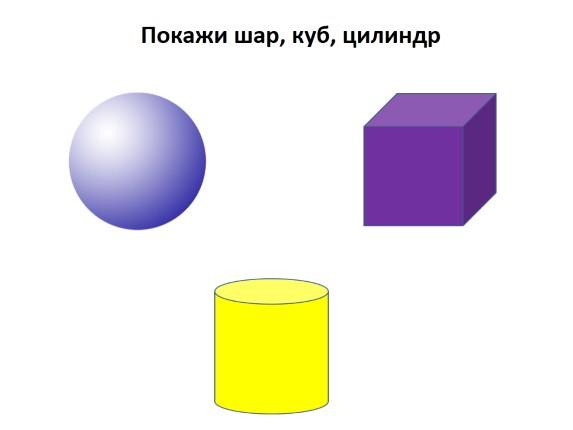 Знакомство с геометрическими телами шар
