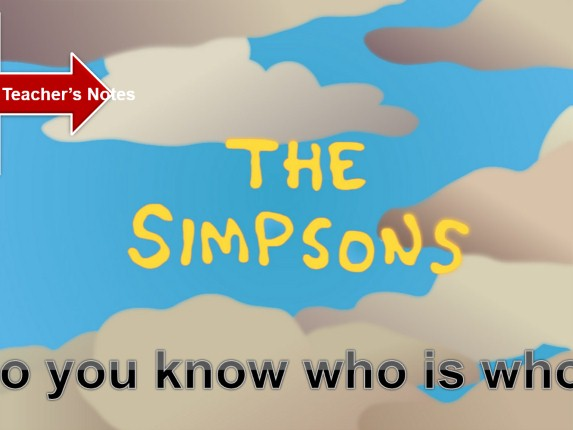 The Possessive Case «The Simpsons»
