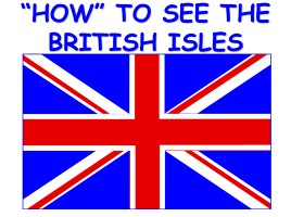 How to see the British isles